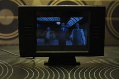 Dollhouse miniature working TV