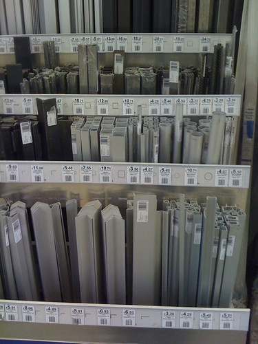 Aluminium in all shapes and sizes...