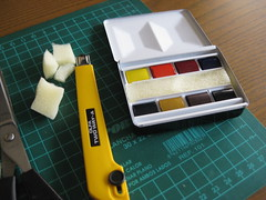 Bijou Box - Winsor & Newton (Bichobolas) Tags: watercolor bijou sketchers winsornewton sketchkit bijoubox