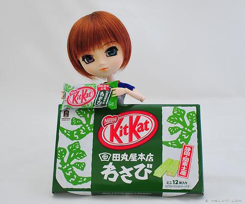 Wasabi's favourite flavour...