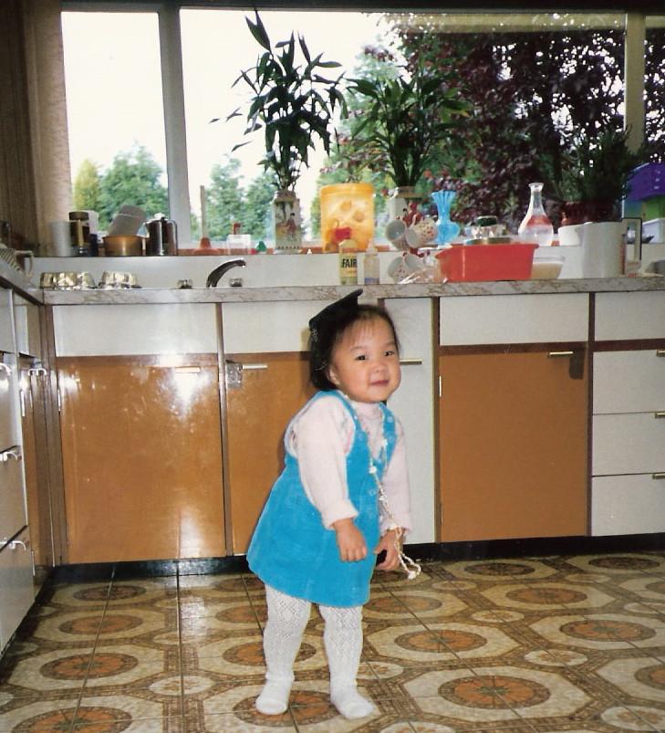 Me and retro kitchen