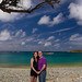 Carl and Becky at Great Lameshur Bay - St. John, US Virgin Islands