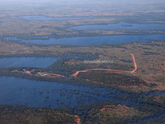 Broken Hill after the rains (29) (Paula McManus) Tags: plane flood australia aerial mining newsouthwales outback opal whitecliffs floods brokenhill menindee dugouts paulamcmanus