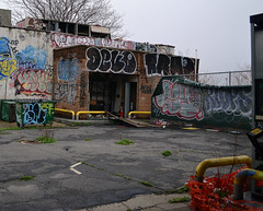 Devo x Trap x Klops (Now It's Real!) Tags: new york city nyc ny abandoned graffiti graf queens devo if graff trap gez qu silon fillin klops lesoe