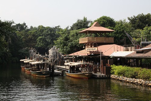 Adventureland Jungle Cruise