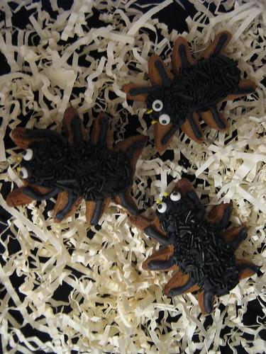 Spider Gingerbread Cookies