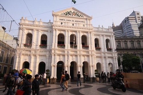 """Santa Casa da Misericórdia"" in Senado Square, Macau"