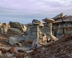 Bisti Hoodoos (Ken'sKam) Tags: newmexico nature desert geology hoodoos bistibadlands westernusa southwesternusa