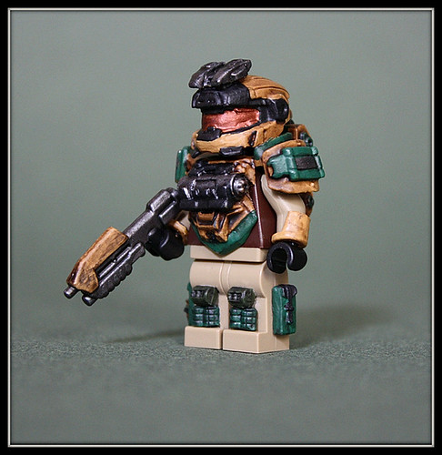 Custom minifig Mark IV, Grenadier Variant