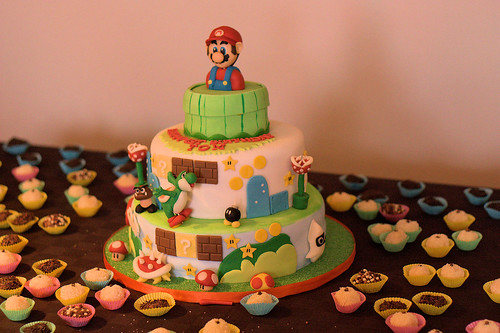 Amazing Super Mario Cake!