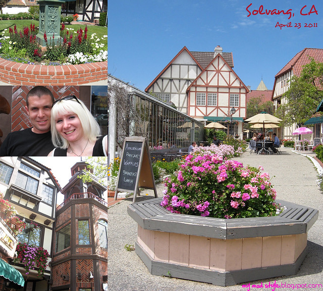 Solvang CA Collage 2