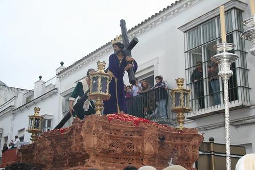 Nuestro Padre Jesús del Consuelo. Procesión Magna del Santo Entierro. Sanlúcar de Barrameda, Sábado Santo 2011