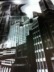 Metropolis (NullProzent) Tags: berlin film museum metropolis filmmuseum iphone fritzlang schwarzweis kinemathek