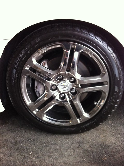 SOLD Acura Rl Aspec Wheels New AcuraZine Acura - Acura rl wheels for sale