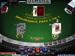 Basic Blackjack game
