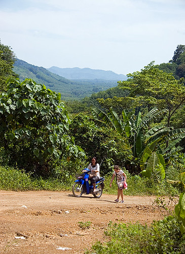 Dirt road on Koh Yao Noi
