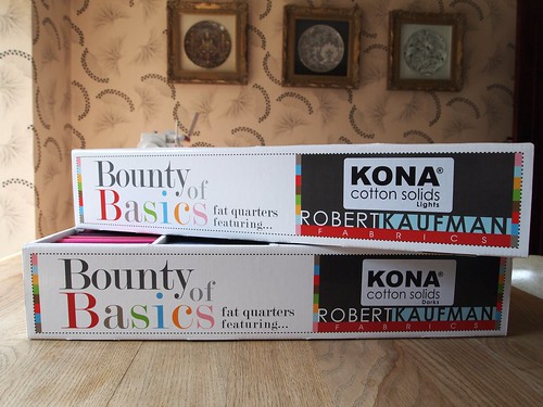 boxes of bounty!