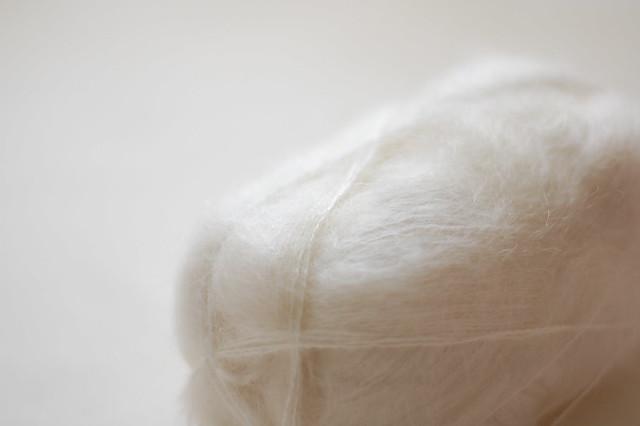 white mohair