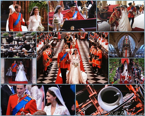 Royal Wedding Kate and William, Londen 29 April 2011.
