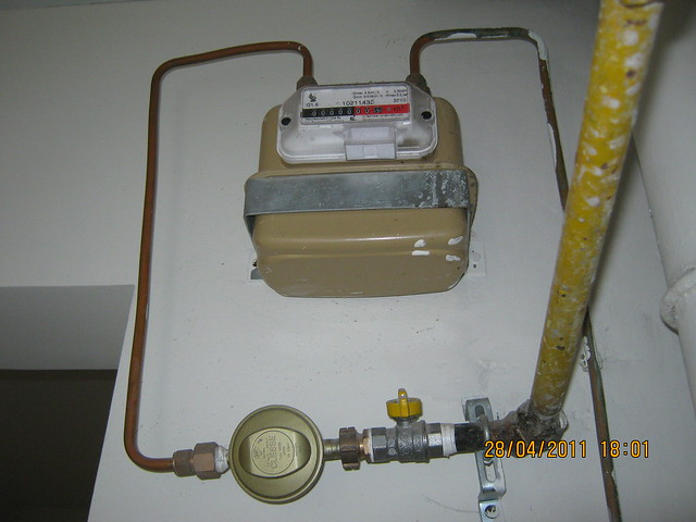 Piped Gas Meter in a flat at Sangria Towers at Megapolis Hinjewadi Phase 3, Pune