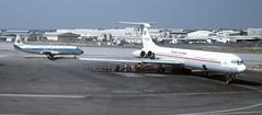 Tel Aviv 8-78 Tarom IL-62 YR-IRB & Arkia Viscount 4X-AVG (Proplinerman) Tags: telaviv aircraft airliner turboprop vickers bengurion jetliner lod viscount ilyushin il62 arkia tarom propliner ilyushin62 lydda yrirb 4xavg