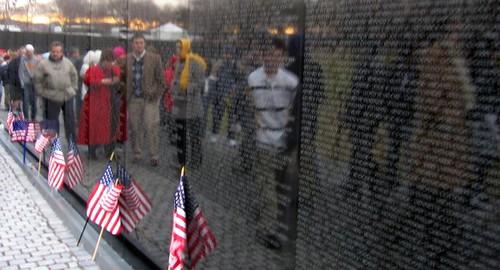Reflections on the Vietnam War Memorial