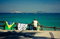 Ipanema blues (rackyross) Tags: ocean brazil brasil riodejaneiro mar mare atlantic brasile carioca ipanema oceano leblon atlantico               thechallengefactory