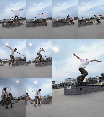 Backward nosegrind by Ricardo Cantero