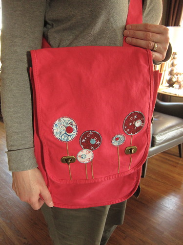 Iron Craft Challenge #18 - Lollypop Flower Bag