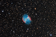 M27 Dumbbell First Light AT10RC & Canon T1i (Terry Hancock www.downunderobservatory.com) Tags: camera sky night canon stars photography pier backyard tech shed bisque images astro observatory telescope nebula astrophotography software terry astronomy imaging hancock messier universe amateur f8 cosmos constellation paramount tmb astronomer teleskop m27 astronomie dumbbell 500d byo f7 refractor vulpecula astrograph astrofotografie astrophotographer Astrometrydotnet:status=solved t1i 130ss ritcheychrtien at10rc Astrometrydotnet:version=14400 qhy5v gt1100s Astrometrydotnet:id=alpha20110585566819