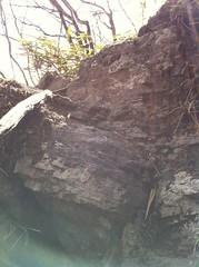 犬の難所(下から見上げた所)