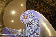 Allure of the Seas - Stairs from Casino Royale (DiGitALGoLD) Tags: sea nikon florida fortlauderdale cruiseship royalcaribbean casinoroyale allure caribbeansea gitzotripod royalcaribbeaninternational nikond3 1424mm digitalgold allureoftheseas allureoftheseascasino