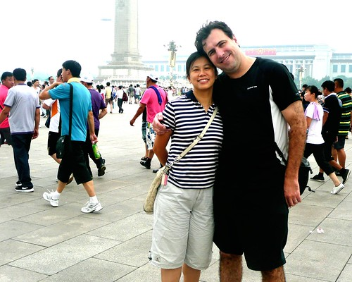 Queenie & Me in Tianamen Square