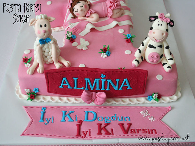 1ST. BIRTHDAY CAKE - ALMİNA