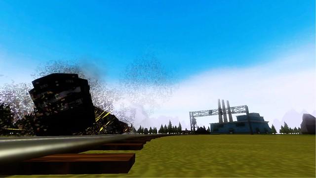 Train Frontier Express - Derailment