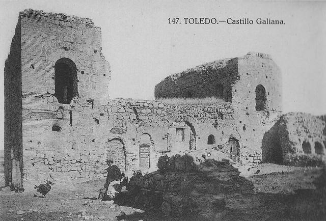 Palacio de Galiana a comienzos del siglo XX. Foto Grafos