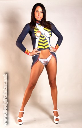 The world 39 s best photos of bodypaint and uniform flickr for Body paint girl photo