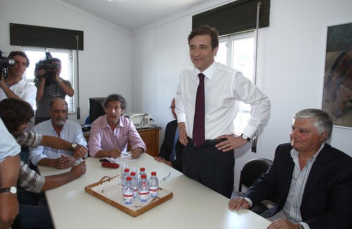 Pedro Passos Coelho reunião com Agricultores