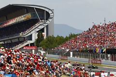 Barcelona race fans (2011 Team Lotus photo archive) Tags: may grand 11 f1 formulaone formula1 esp catalan gp montmelo spn mike prix on spanish track 2011 riad kovalainen gascoyne 2011 t128 jarno trulli heikki asmat barcelonai