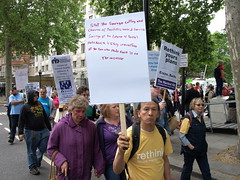 P5114670 (pete riches) Tags: london balloons march hiv pcs protest nat demonstration solidarity posters depression vic banners dwp disabilityrights slogans mentalhealth ica parkinsons placards happi mnd atos unison rethink epilepsy mencap rnib dla guidedogs cerebalpalsy ucu rtwc carers janeasher dpac mnda stopthecuts nocuts terrencehigginstrust righttowork motorneuronedisease andrewlansley nsun disabilitybenefits invisibleillness leonardcheshire 11052011 05112011 demo2011 thehardesthit hardesthit hardesthitmarch mobilityallowance harrowmencap lewishammencap greenwichlearningdisability peoplesparliament lordlowofdalston nationalinvolvementpartnership federationofdisabledpeople benefitsbill winvisible kentdisabledanglers visuallyimpairedincamden
