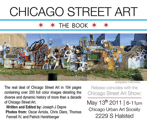 The Chicago Street Art Show Book. (Image Courtesy of The Chicago Urban Art Society)