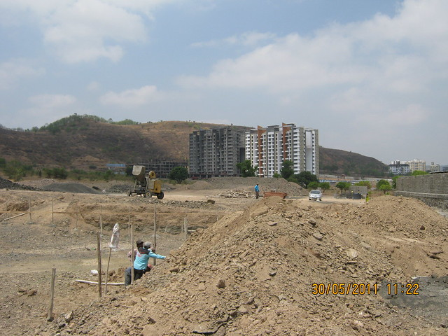 View of Pride Platinum from Reelicon Alpine Ridge, 2 BHK 2.5 BHK 3 BHK Flats, near Pancard Club Baner Pune