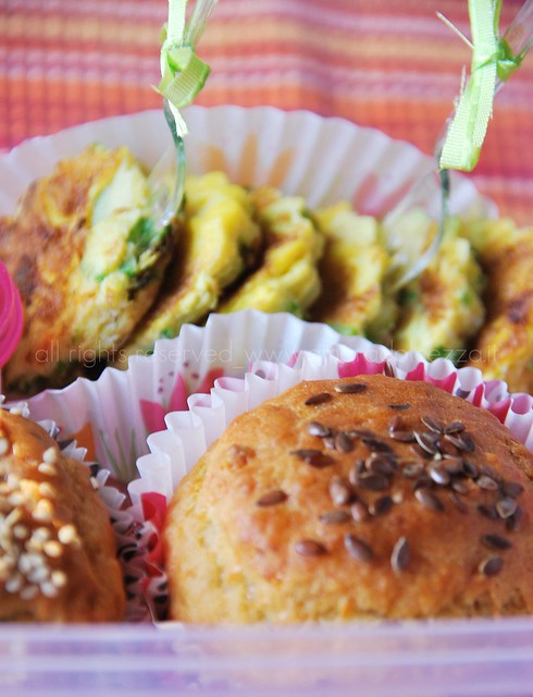 Bento_muffin salato e frittata