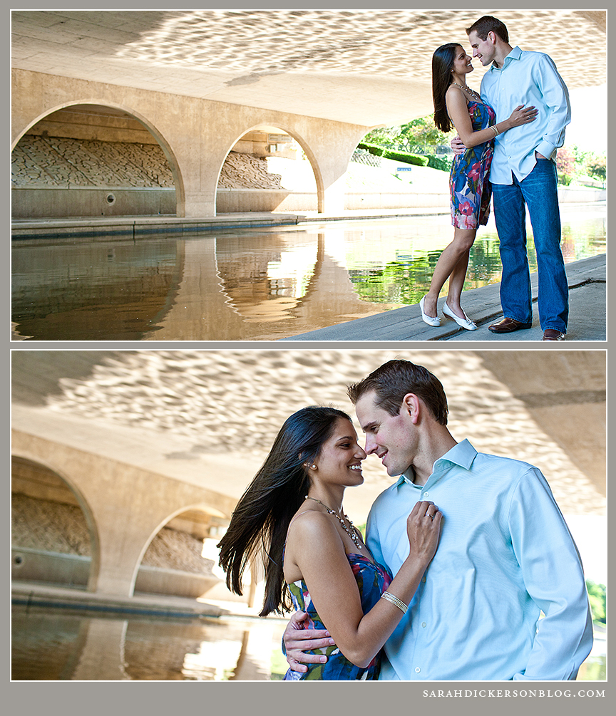 Kansas City Country Club Plaza engagement session