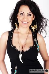 Szandra (Balázs B.) Tags: brown girl beautiful beauty face fashion canon hair makeup brunette divat canonef24105mmf4lisusm csinos szandra 40d