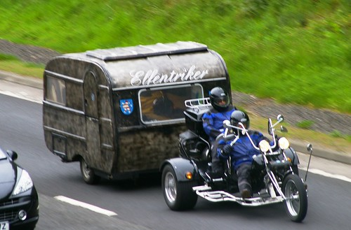 Motor Tricycle + Caravan - Perth Scotland