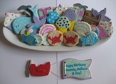 Beach Theme Birthday Platter (Songbird Sweets) Tags: beach songbirdsweets