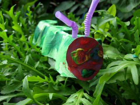 the very hungry caterpillar craft idea