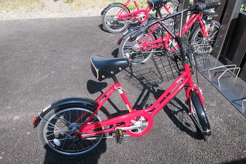 借りられる自転車