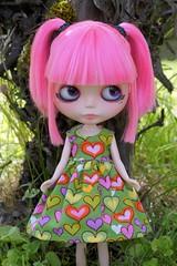 Rag Bag Designs Hearts Dress